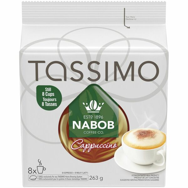 Tassimo - Nabob - Cappuccino