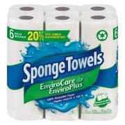 SpongeTowels - PaperTowel Envirocare 88 Sheets (*)