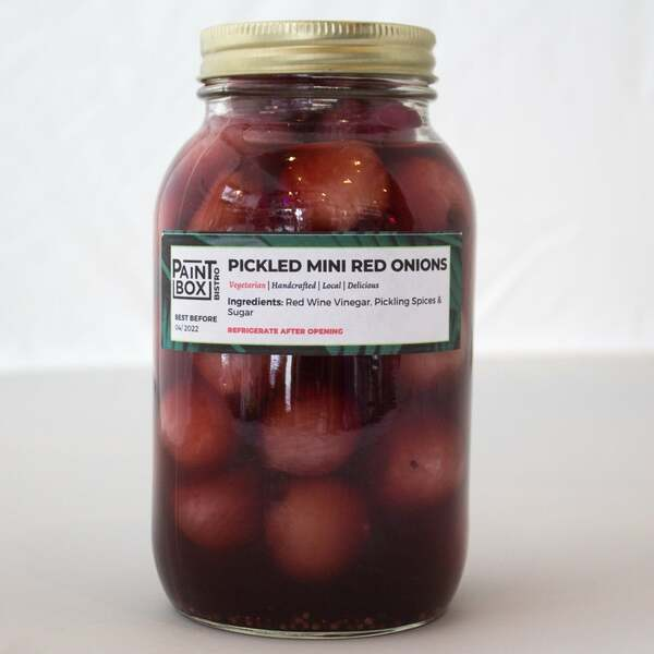 Pickled Mini Red Onions