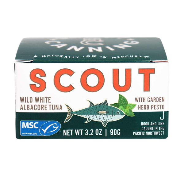 Scout Canning - Wild Tuna With Garden Pesto