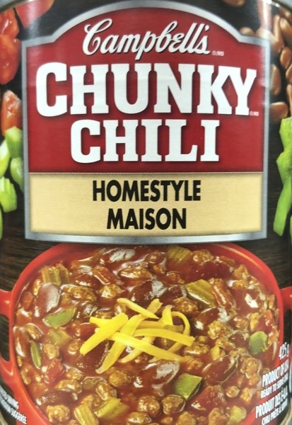 Campbell's - Chunky Chili - Ready to Serve Soup