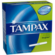 Tampax - Super Unscented Tampons