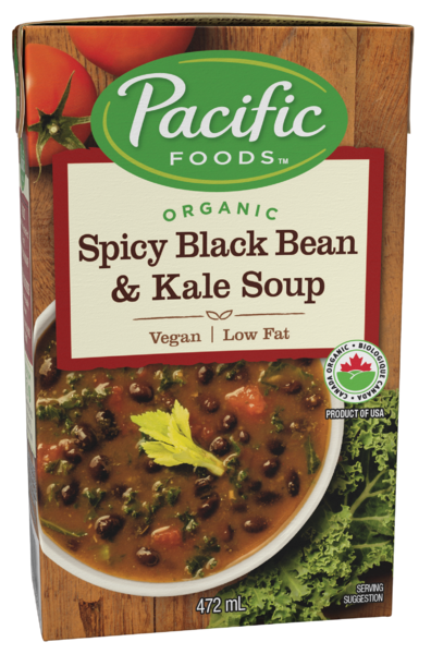 Pacific Foods - Spicy Black Bean & Kale Soup - Organic