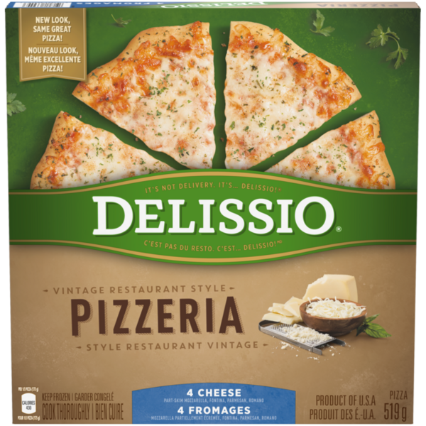 Delissio - 4 Cheese Vintage Style