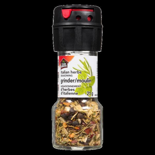 Club House Grinder- Italian Herbs
