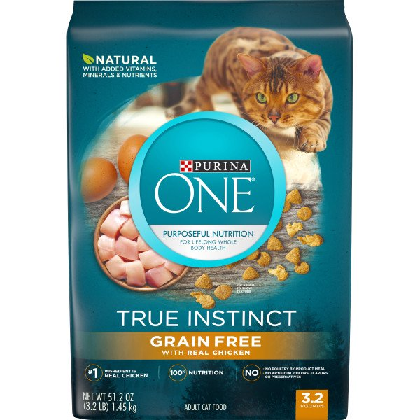 Purina One -True Instinct Cat Grain Free Chicken