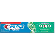 Crest -Toothpaste Complete Scope Whiten Fresh Breath