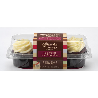 CCF - Red Velvet Mini Cupcake - 3 Pack