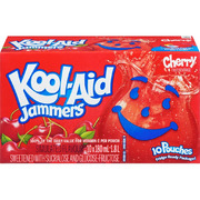 Kool-Aid - Jammers - Cherry - 10 Pouches
