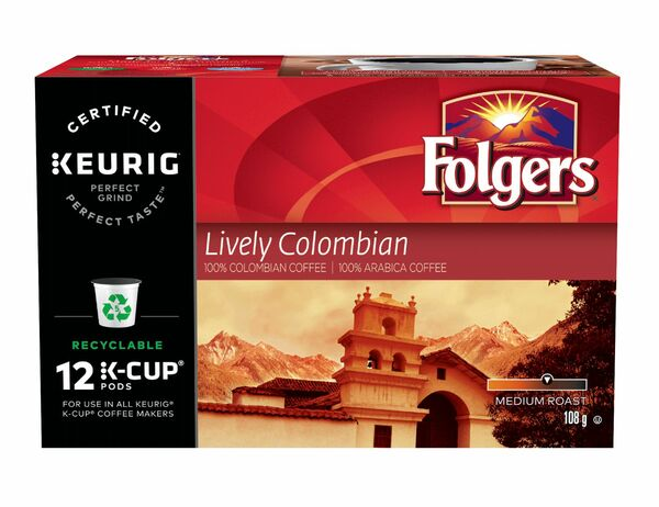 Folgers - Lively Columbian - 100% Colombian Coffee