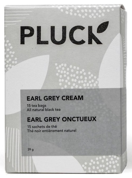 Pluck - Premium Black Tea - Earl Grey Cream - 15 Pack