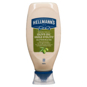 Hellmanns - Mayonnaise Squeeze Olive Oil