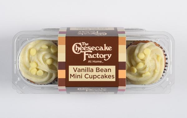 CCF - Vanilla Bean Mini Cupcake - 3 Pack