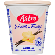Astro Smooth 'n Fruity Stirred Yogurt Vanilla