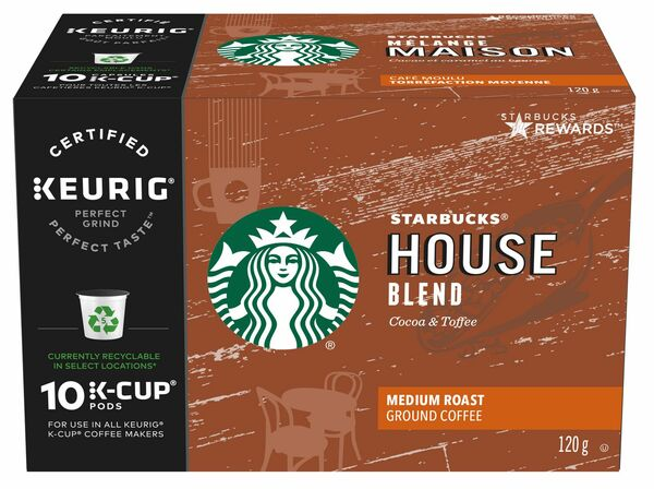 Starbucks - House Blend - Cocoa & Toffee