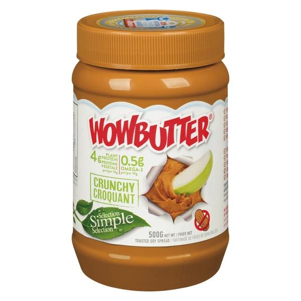 WOWBUTTER - Soyabutter - Crunchy
