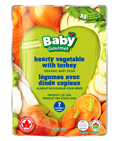 Baby Gourmet - Hearty Vegetable With Turkey