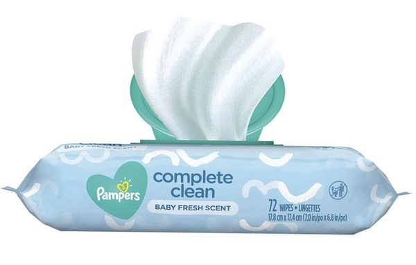 Pampers Complete Clean Baby Fresh Scent