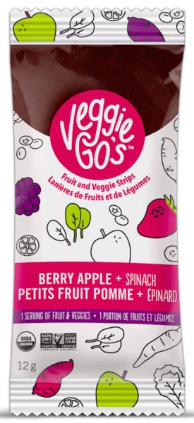 Veggie Go's - Fruit and Veggie Strips - Organic