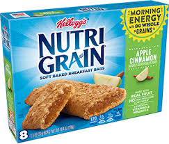 Kelloggs Nutri Grain Bar Apple Cinn