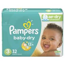 Pampers Diapers - Baby Dry Jumbo Size 3