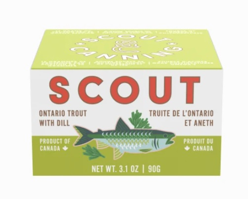Scout Canning - Ontario Trout with Dill