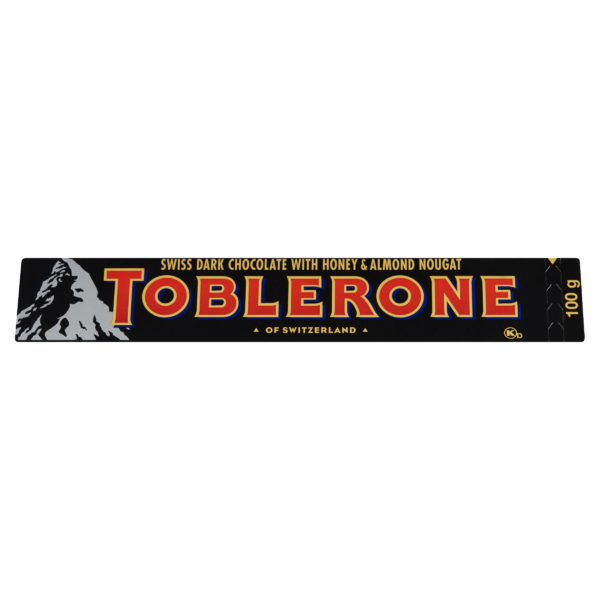 Toblerone - Dark Honey&Almond Nougat