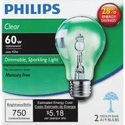 Philips EcoVantage 60W - Clear