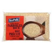 Nupak - Long Grain Parboiled Rice