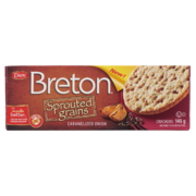 Breton - Sprouted Grains - Crackers - Caramelized Onion