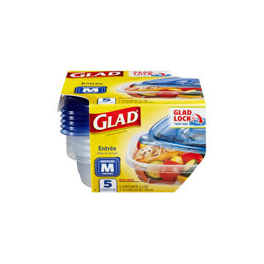 Glad - Entree Containers