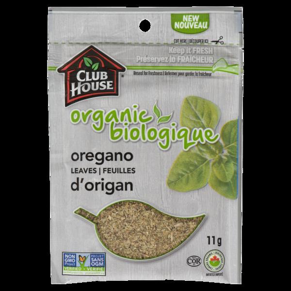 Club House - Organic Oregano Leaves Bag