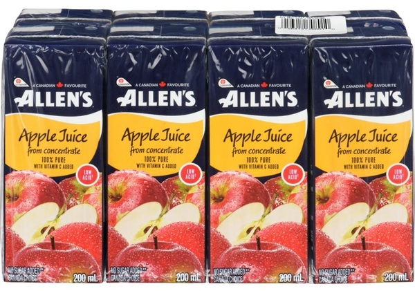 Allen's - Apple Juice - From Concentrate - 8 Pack