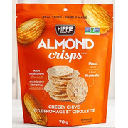 Hippie Snacks - Almond Crisps - Cheezy Chive