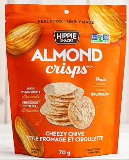 Hippie Snacks - Almond Crisps - Cheezy Chive