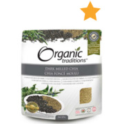 Organic Traditions - Dark Milled Chia