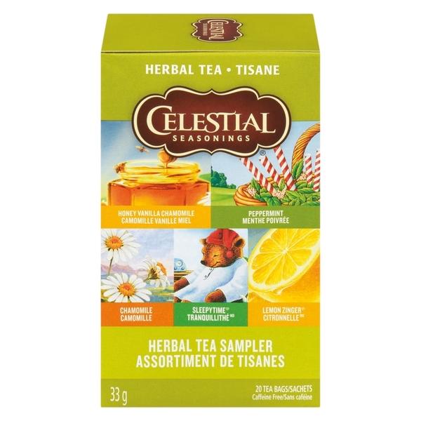 Celestial Seasonings - Sampler - Herbal Tea