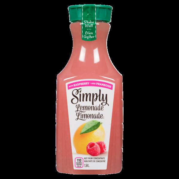 Simply - Lemonade with Raspberry