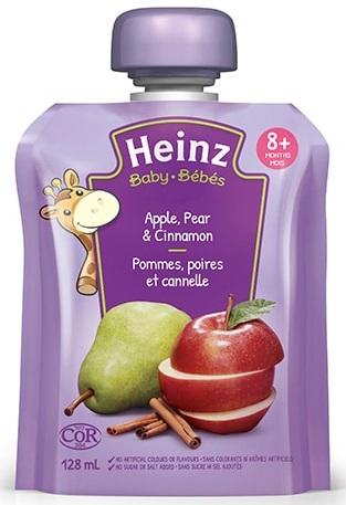 Heinz - Baby - Apples, Pear & Cinnamon