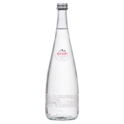 Evian - Natural Spring Water (Glass)