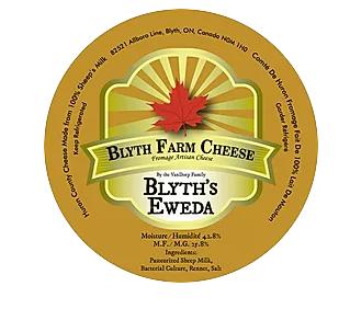 Golden Blyth's - Eweda Sheep's Milk Cheese Wedge