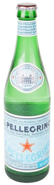 San Pellegrino - Carbonated Natural Mineral Water