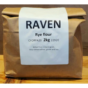 Raven Dark Rye Flour