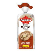 Dempster's - English Muffins - Whole Grain
