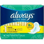 Always - Maxi Pads Ultra Thin with Wings