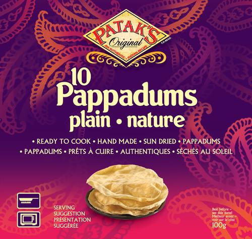Patak's Original - 10 Pappadums