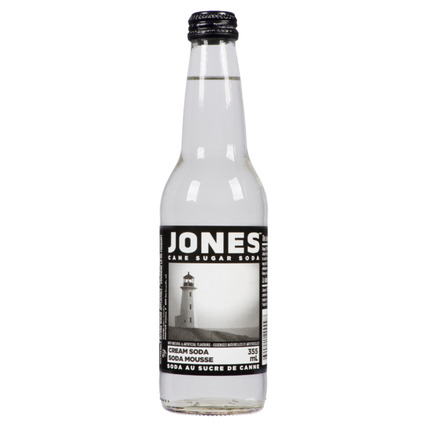 Jones - Cane Sugar Soda - Cream