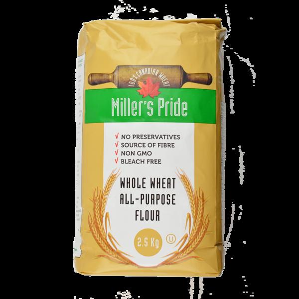 Miller's Pride - Whole Wheat - All-Purpose Flour
