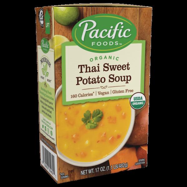 Pacific Foods - Thai Sweet Potato Soup - Organic