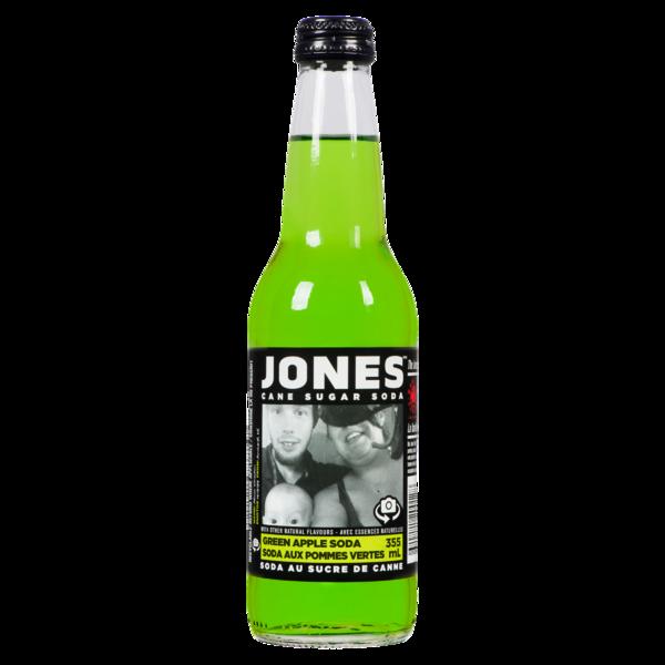 Jones - Cane Sugar Soda - Green Apple
